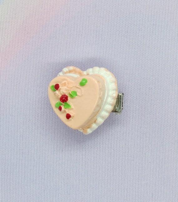 Cake Hair Clip Cute Mini Food Barrette Kawaii