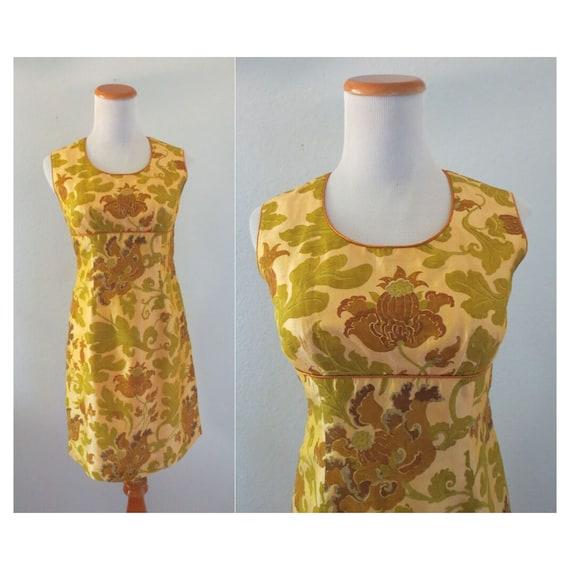 60s Shift Dress Mod Cocktail Dress