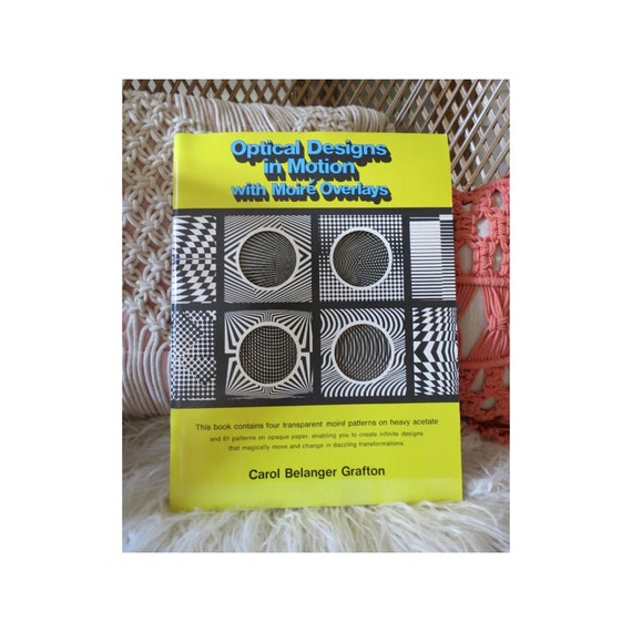 Op Art Book Optical Designs Visual Illusions