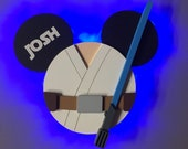 Luke Skywalker Star Wars Disney Cruise Door Magnets with Lights, Disney cruise door magnet, Star Wars Day at Sea, May the force be with you