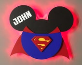 Superman Mickey, Super He...
