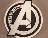 Avengers Cruise Line Wooden Door Magnets with LED Lights, Disney cruise door magnet, Marvel Day at Sea