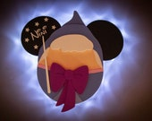 Fairy Godmother Disney cruise door magnet,  Cinderella, A Dream is a Wish your Heart Makes, Bibbity Bobbity Boo Magnet