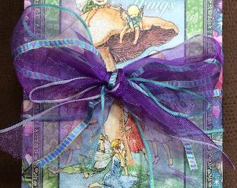 Graphic 45 Fairie Dust, Fantasy, Magical, Fairy Tri-Fold Wallet Album