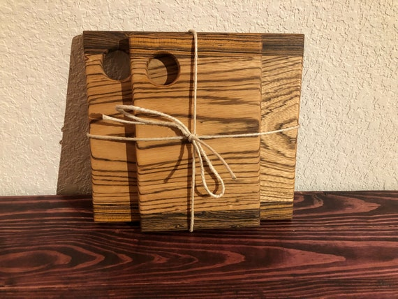 Zebra Wood Cutting Boards Serving Trays Cheese Boards Etsy