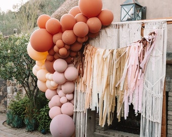 Tablecloth Fringe Backdrop ONLY Flagtape Backdrop, Fringe Backdrop, Birthday, Party Theme, Customizable