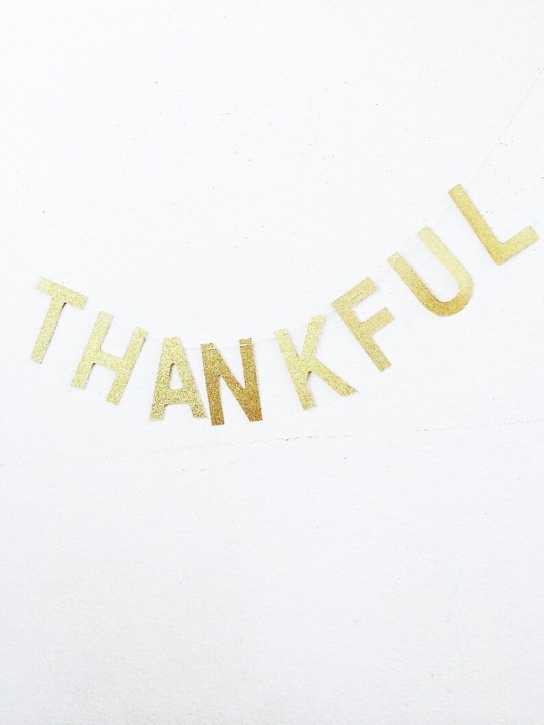 Customizable: Glitter Letter Banner image 0