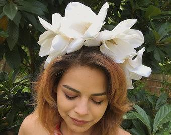 Handmade flower crown - fiesta / wedding / festival