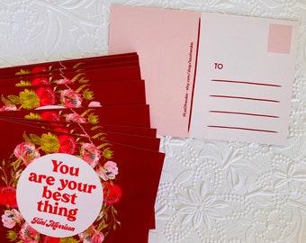 Toni Morrison Truth to power inspirational quotes postcard series Las Ofrendas POSTCARD