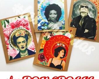 PODEROSAS ••• Las Ofrendas handmade cards