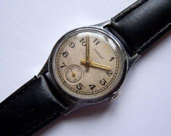 Soviet Watch Pobeda Russian Men Mechanical Wristwatch USSR
