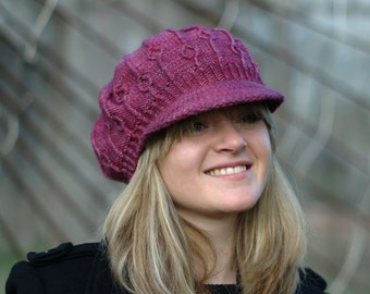 8d5da67842f Camden Cap Hat PDF knitting pattern instructions