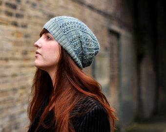 bf65e3e255c Starburst slouchy Hat PDF knitting pattern instructions