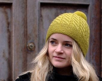 Skelter Beanie Hat PDF knitting pattern (instructions)