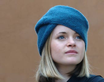 fb0b1bf3092 Imagiro vintage style turban Hat PDF knitting pattern (instructions)