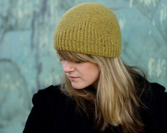 f10a15c70bd Half Theory beanie Hat PDF knitting pattern (instructions)