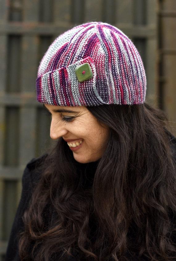 Dutrieu Cloche Hat Pdf Knitting Pattern Instructions Etsy