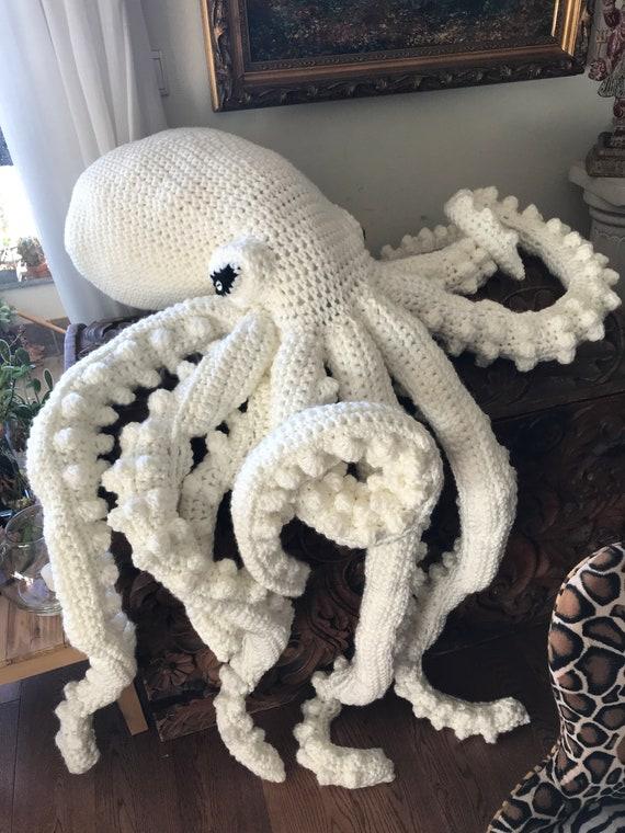 Octopus Crochet Pattern Octopus Crochet Crochet Octopus | Etsy | 760x570