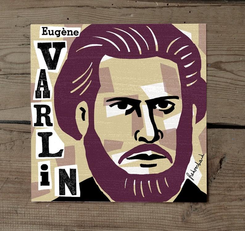 Eugene Varlin / Map 18 x 18 image 0