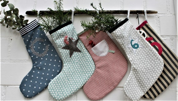 Santa Boots, Santa's Stocking, Santa, Advent, Christmas, Christmas Decoration, Santa's Stocking Fabric, Santa's Stocking Kids, xmas