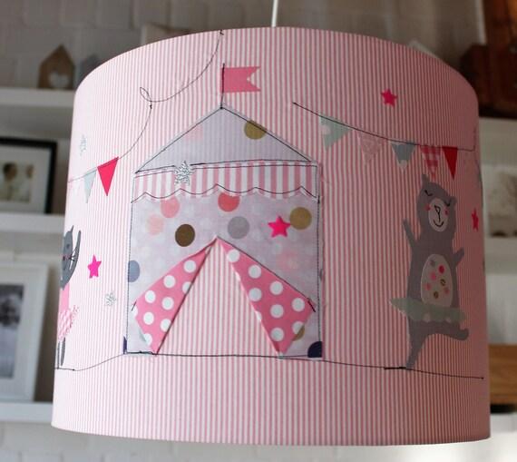 Lampshade Nursery, Hanging Lamp, Ceiling Lamp, Floor Lamp, Lamp, Lamp, Light, Circus, Girl, Milla Louise