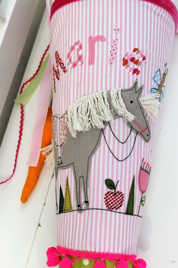 School bag school bag stuff school starter school bag girl school bag horse school bag with name school start,horse school bag