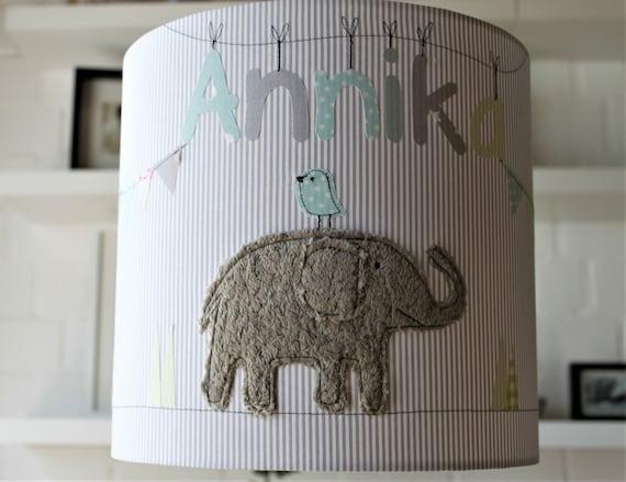 Lampshade Nursery, Hanging Lamp, Ceiling Lamp, Floor Lamp, Lamp, Lamp, Light, Elephant, MillaLouise