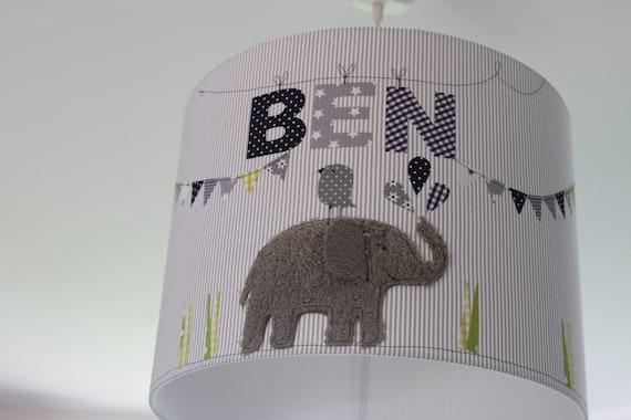 Lampshade Children's room, Hanging lamp, Ceiling lamp, Floor lamp, Lamp, Lamp, Light, Elephant, MillaLouise