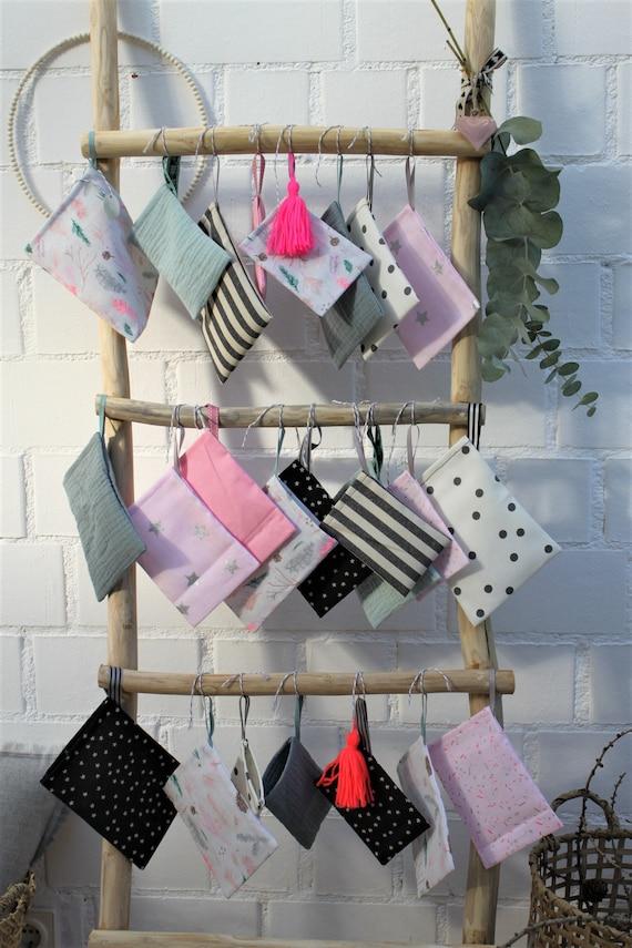 Advent Calendar Fabric, Advent Calendar Children, Advent Calendar to Fill, Advent Calendar Scandinavian, Advent Calendar Sewn, Skandi