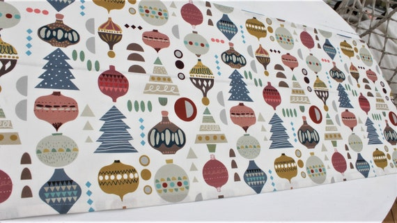 Table runner, tablecloth, middle blanket, autumn, Christmas, Christmas decoration, table decoration, X-Mas, Christmas baubles
