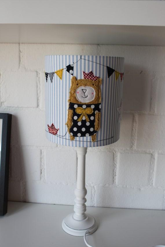 Lampshade Children's room, pendant lamp, ceiling lamp, lamp, lamps, light, bear, Brommeline, MillaLouise