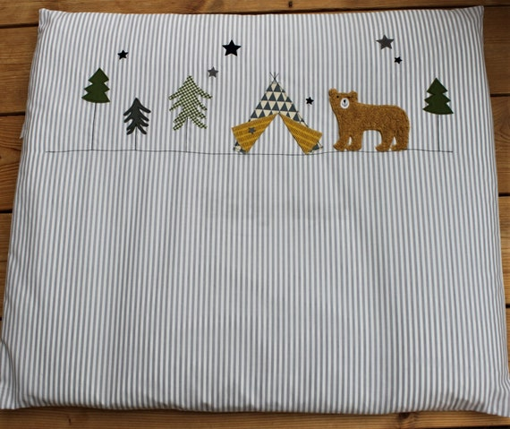 Wrapping Pad, Wrapping Pad, Changing Table, Pad, Changing Table, Nursery, Room Boys, Grizzly, Teepee, Baby