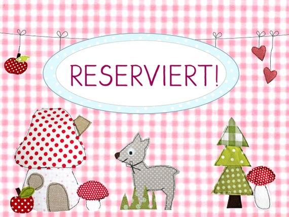 Reserved for Sabrina