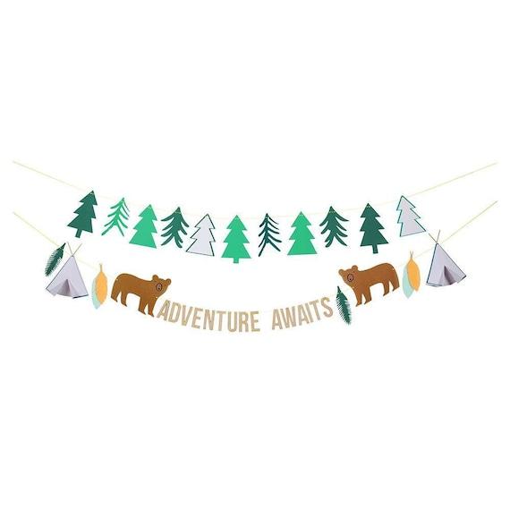 Adventure Garland Let's explore by Meri Meri