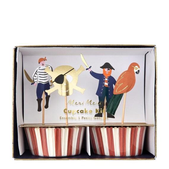 Pirate Cupcake set by Meri Meri