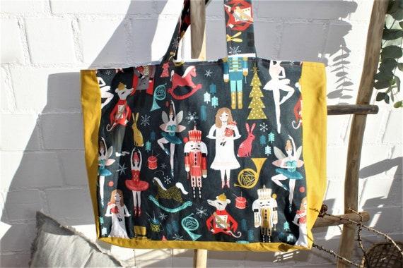 Bag Cloth Bag Shopping Bag Shopping Bag Large Bag Christmas Bag Large Shoulder Bag Canvas Bag Gift Christmas Xmas