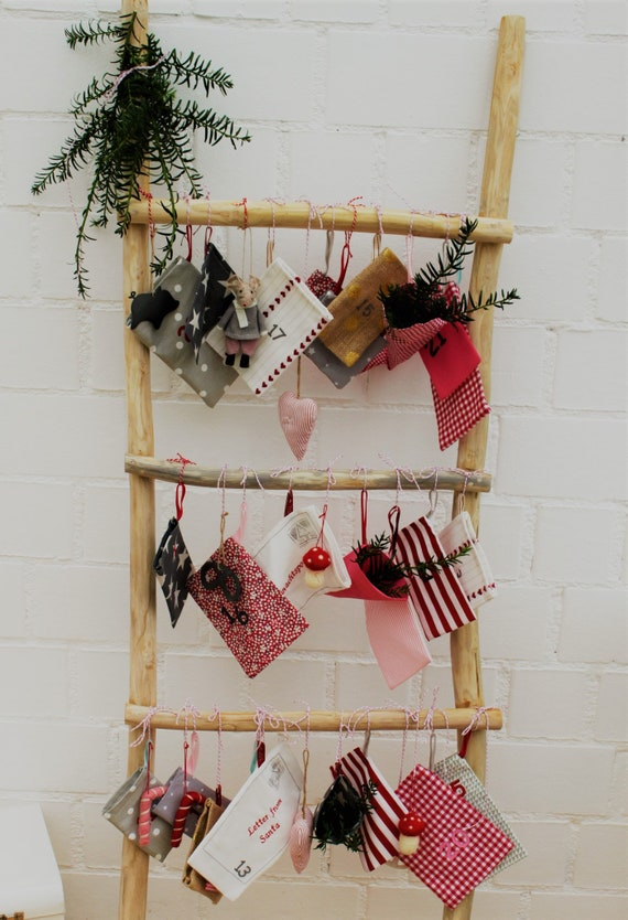 Advent Calendar, Scandinavian, Advent Calendar Kids, Advent Calendar to Fill, Advent Calendar Bags, Advent Calendar Fabric
