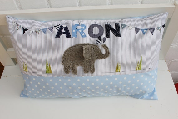 Pillows with name pillow upholstery Pillows Baby pillows pillows personal Pillow baby Pillow