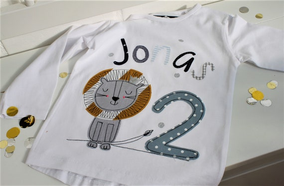 Birthday shirt kids,birthday shirt,shirt for boys,shirt with name,shirt with number,lion, shirt safari, lion shirt, safari birthday