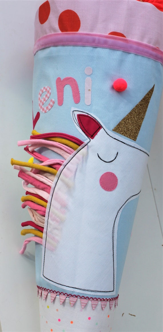 School bag school bag fabric school starter School bag School bag girl school bag unicorn school bag named School Start