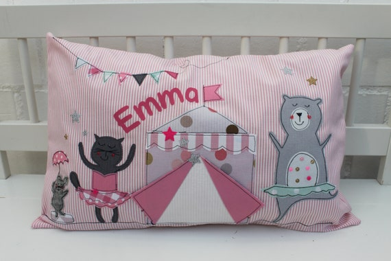 Pillows with name pillow cover pillows Baby pillow pillow cover Baby pillows personal pillows Pet Pillow