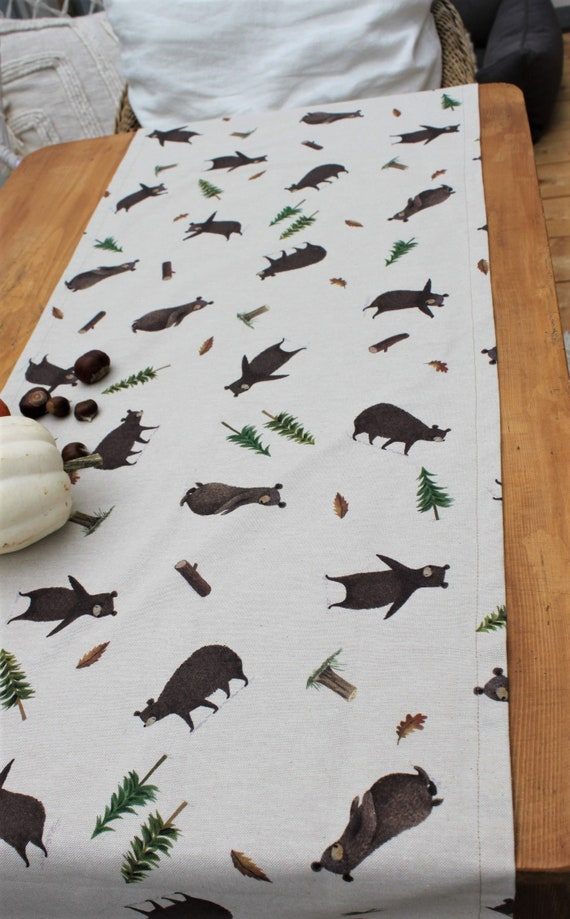 Table runner Tablecloth Middlecloth Table runner Autumn Tablecloth Christmas Table decoration Weihanchten Tablecloth xmas