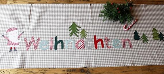 Table Runner Christmas, Tablecloth Christmas, Christmas decoration, Christmas gift, Xmas, Christmas tablecloth, Milla Louise