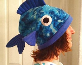 Fleece Fish Hat Beanie