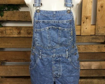 4fb9bce97c6c 90's Denim Dungaree Guess Overalls - vintage summer dungarees