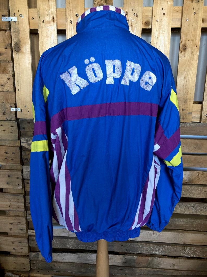 funky retro rave windbreaker size L Vintage Festival 70s80s Track Suit Jacket