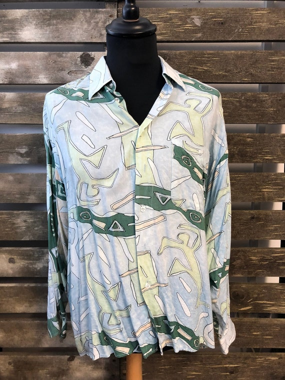 90s fresh prince style oversized shirts size M Vintage Funky Unisex Oversized Shirts