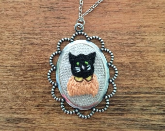 Kitty Cat -  cat lover, cat lady, black cat