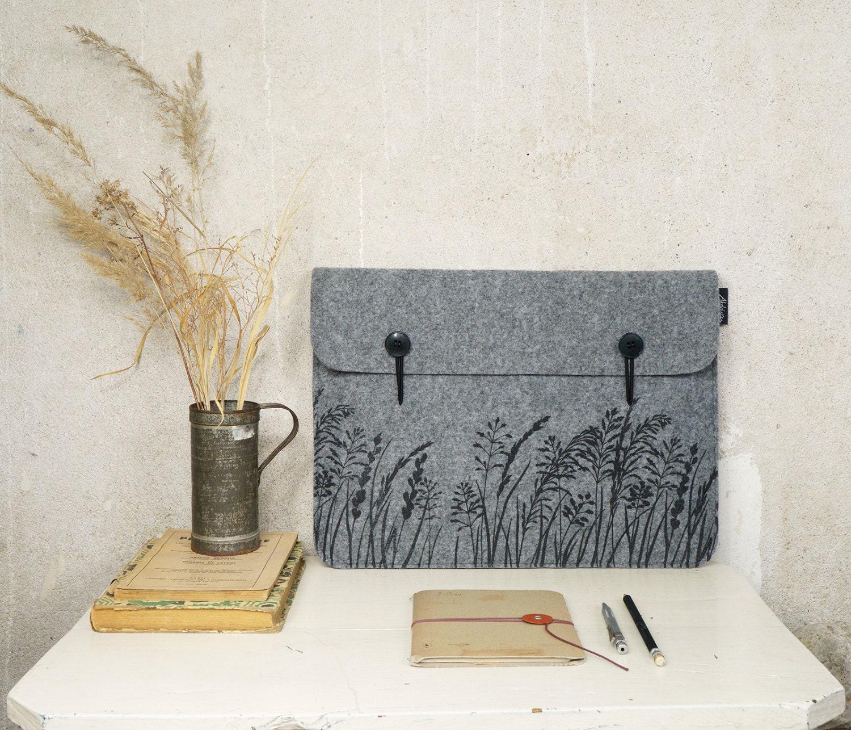 mac book air 13 tasche case h lle mit s gr ser etsy. Black Bedroom Furniture Sets. Home Design Ideas