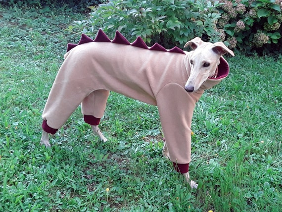Dog greyhound Holiday friends of the forest fleece PJ/'s